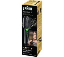 Paddle brush Braun BR710 Warranty 24 month(s), Ion conditioning, Black/Green BR710