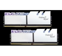G.Skill Trident Z Royal DDR4 32GB (2x16GB) 3200MHz CL16 1.35V XMP 2.0 Silver F4-3200C16D-32GTRS