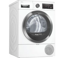 BOSCH WTX8HKL9SN 9kg A++ White Siltumsūkņa tipa veļas žāvētājs WTX8HKL9SN