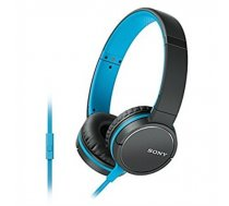 Sony MDR-ZX660APL Head-band, Connection type 3.5 mm, Microphone, Black/Blue MDRZX660APL.CE7