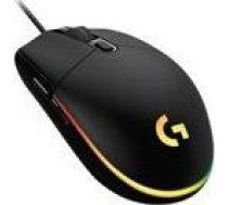 Logitech LOGI G203 LIGHTSYNC Gaming Mouse Black 910-005796