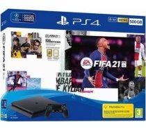 Sony PlayStation 4 Slim 500GB + Fifa 21 Bundle Pack CUH-2216A/FIFA21