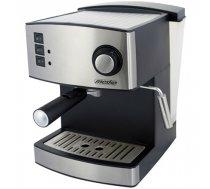 Mesko Espresso Machine MS 4403 Pump pressure 15 bar, Built-in milk frother, 850 W, Black/ stainless steel MS 4403