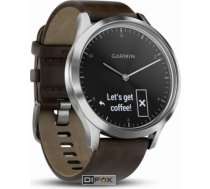 Garmin vivomove HR Premium silver/dark brown L 010-01850-04