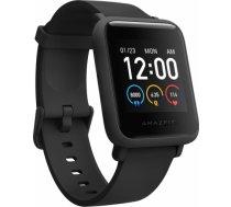 Xiaomi Amazfit Bip S Lite Smart watch, GPS (satellite), AMOLED Display, Touchscreen, Heart rate monitor, Activity monitoring 24/7, Waterproof, Bluetooth, Charcoal Black W1823OV1N