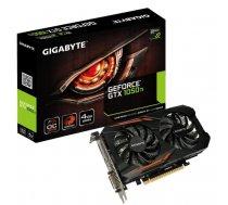 Graphics Card | GIGABYTE | NVIDIA GeForce GTX 1050 TI | 4 GB | 128 bit | PCIE 3.0 16x | GDDR5 | Memory 7008 MHz | GPU 1316 MHz | Dual Slot Fansink | 1xDVI | 1xHDMI | 1xDisplayPort | GV-N105TOC-4GD GV-N105TOC-4GD