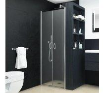 dušas kabīnes durvis, 75x185 cm, ESG, matētas