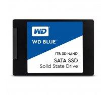 SSD|WESTERN DIGITAL|Blue|1TB|SATA 3.0|TLC|Write speed 530 MBytes/sec|Read speed 560 MBytes/sec|2,5″|MTBF 1750000 hours|WDS100T2B0A