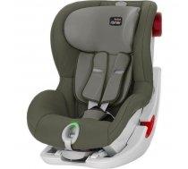 Autokrēsliņi 0-18 kg - Britax Romer King II LS Olive Green White frame Bērnu autosēdeklis 9-18 kg