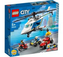Konstruktori - LEGO City 60243 Police Helicopter Chase