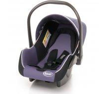 Autokrēsliņi 0-13 kg - Bērnu autosēdeklis 0-13 kg ar kāju pārvalku 4baby COLBY purple
