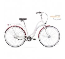 "Velosipēds Romet Pop Art 28"" 2020 white-bordo"