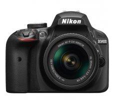 Nikon D3400 Kit AF-P 18-55mm VR Black