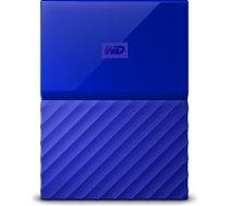 Western Digital WD External HDD My Passport 2.5'' 3TB USB 3.0 Blue (WDBYFT0030BBL-WESN)