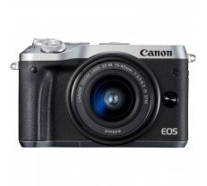 Canon EOS M6 Kit 15-45mm IS STM Silver