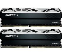 G.SKILL Sniper X 16GB (2x8GB) DDR4 2400MHz CL17 Urban Camo (F4-2400C17D-16GSXW)