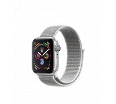 Apple Watch Series 4 40mm Silver Aluminum Case with Seashell Sport Loop MU652