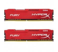 Kingston HyperX Fury Red 16GB (2x8GB) DDR4 2400MHz CL15 1.2V (HX424C15FR2K2/16)