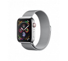 Apple Watch Series 4 44mm GPS + Cellular Stainless Steel Case with Milanese Loop MTX12