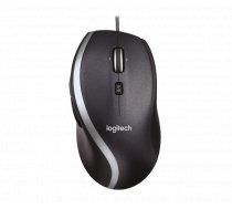 Logitech M500 Corded Mouse Black (910-003726)