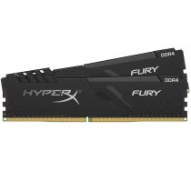HyperX FURY Memory Black - 8GB Kit*(2x4GB) - DDR4 2400MHz CL15 DIMM (HX424C15FB3K2/8)