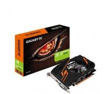 Graphics Card GIGABYTE NVIDIA GeForce GT 1030 2 GB 64 bit PCIE 3.0 16x GDDR5 Memory 6008 MHz GPU 1265 MHz Single Slot Fansink GV-N1030OC-2GI