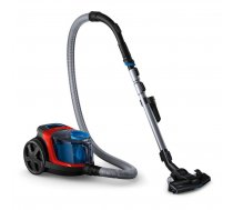 Vacuum Cleaner PHILIPS FC9330/09 Canister/Bagless 900 Watts Capacity 1.5 l Noise 76 dB Black / Red Weight 4.5 kg FC9330/09
