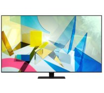 "TV Set SAMSUNG 4K/Smart 85"" QLED 3840x2160 Wireless LAN Bluetooth Tizen Colour Black / Silver QE85Q80TATXXH"