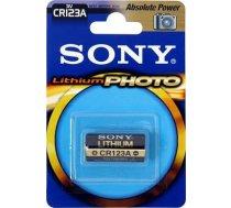 SONY CR123A litija fotokameras 3 voltu 1 iepakojums