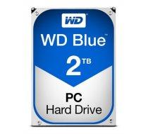 """Western Digital Blue 3.5 """"SATA hard drive, 2TB, SATA 6GB / s, 5400 RPM, 64MB Cache / WD20EZRZ"""