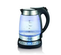 Kettle electric Adler AD 1247 (2200W 1.7l; silver color)