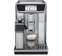 Coffee machine fully automatic DeLonghi PrimaDonna Elite ECAM 650.75.MS (silver color)