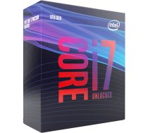 Processor Intel Core i7-9700K BX80684I79700K 999J2T (3600 MHz; 4900 MHz (max); LGA 1151; BOX)