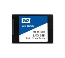 SSD  1TB WD Blue 2,5 (6.3cm) SATAIII 3D 7mm intern bulk WDS100T2B0A