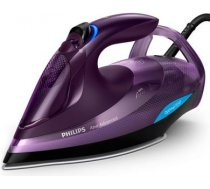 Philips Iron GC4934/30 Steam Iron, 3000 W, Water tank capacity 330 ml, Continuous steam 55 g/min, Purple GC4934/30 | 8710103828778
