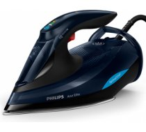 Philips Azur Elite GC5036/20 Black, 3000 W, Steam iron, Continuous steam 70 g/min, Steam boost performance 260 g/min, Auto power off, Anti-drip function, Anti-scale system, Vertical steam function, Water tank capacity 350 ml GC5036/20   8710103828938