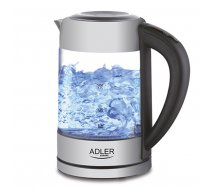 ADLER AD 1247 New With Electronic Control Stainless Steel AD 1247 NEW Tējkanna
