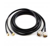 Coaxial Cable N Male / SMA Male 10m Duplex CC-NM-SM-10-D OEM