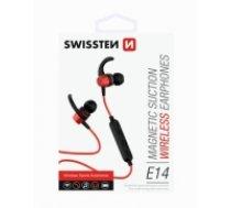 Swissten Active Wireless Bluetooth 4.2 Earphones / A2DP / AVRCP / HSP / HFP / Bezvadu Sporta Austiņas Sarkanas (SW-AC-SPHS-RD)