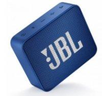 Portable Speaker | JBL | GO 2 | Portable/Waterproof/Wireless | 1xMicro-USB | 1xStereo jack 3.5mm | Bluetooth | Blue | JBLGO2BLU (JBLGO2BLU)