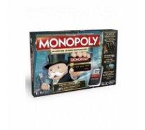 HASBRO Spēle Monopols elektroniskā versija ar bankas kartēm LV/EST B6677EL (43815)