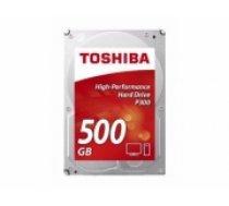 Dysk twardy Toshiba P300, 3.5'', 500GB, SATA/600, 7200RPM, 64MB cache (HDWD105UZSVA)