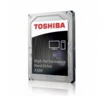 Internal HDD Toshiba X300, 3.5'', 5TB, SATA/600, 7200RPM, 128MB cache, BOX (HDWE150EZSTA)