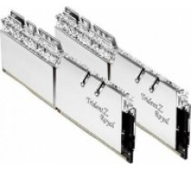 G.skill PC Memory DDR4 16GB (2x8GB) TridentZ Royal RGB DDR4 3200MHz CL14-14-14 XMP2 Silver (F4-3200C14D-16GTRS)