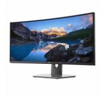 """34"""" izliekts QHD LED IPS monitors, Dell (210-AQVQ)"""