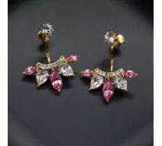 "Diamond Sky Auskari ""Siluna"" ar Swarovski™ kristāliem"