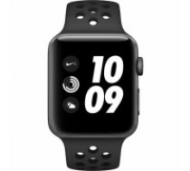 Apple Watch Nike+ Series 3 GPS, 42mm MTF42EL/A Aluminium Case  Space Gray (MTF42EL/A)