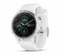 Garmin fenix 5S Plus,Sapphire,White w/White Band,GPS Watch,EMEA (010-01987-01)