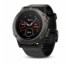 Garmin fēnix 5X Sapphire - Slate grey with black band (010-01733-01)