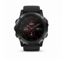 Multisporta GPS pulkstenis FENIX 5X Plus Sapphire, Garmin 010-01989-01 (010-01989-01)